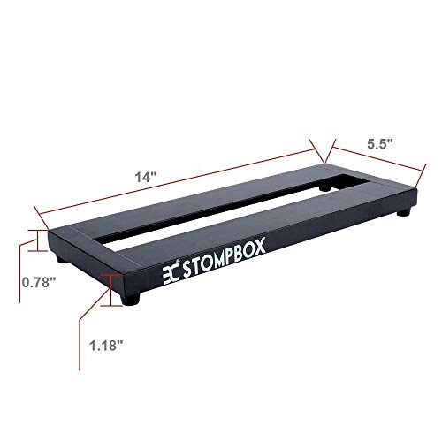 eno ex stompbox guitar effects pedalboard mini with pedals mountain tape cable tie 14 buy. Black Bedroom Furniture Sets. Home Design Ideas