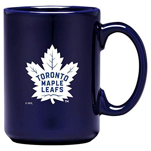 (NHL Hockey Coffee & Tea Mug 15oz (Toronto Maple Leafs Blue))