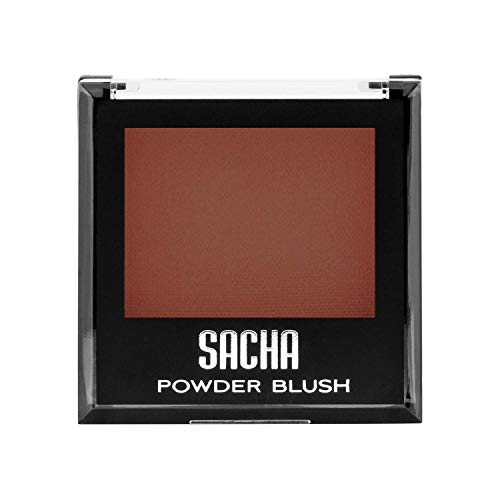 Santa Fe Blush - Blush by Sacha Cosmetics, Best Highlighter Makeup Blusher to Sculpt Face & Highlight Cheeks, 14 shades, 0.27 oz, Santa Fe