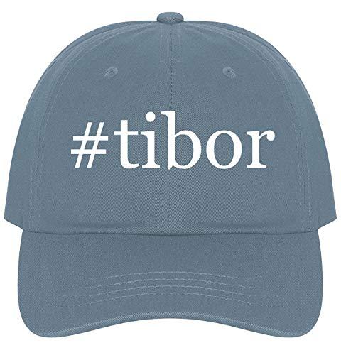 The Town Butler #Tibor - A Nice Comfortable Adjustable Hashtag Dad Hat Cap, Light -