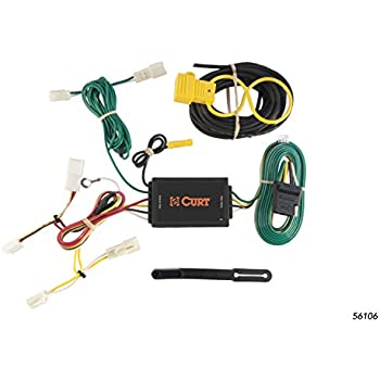 41k8mITJqxL._SL500_AC_SS350_ amazon com curt 55580 custom wiring harness automotive Curt 7 Pin Wiring Harness at bayanpartner.co