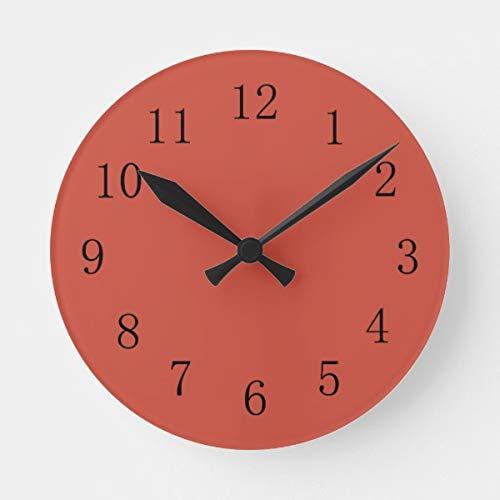 Terra Cotta Wall Clock - PotteLove 12