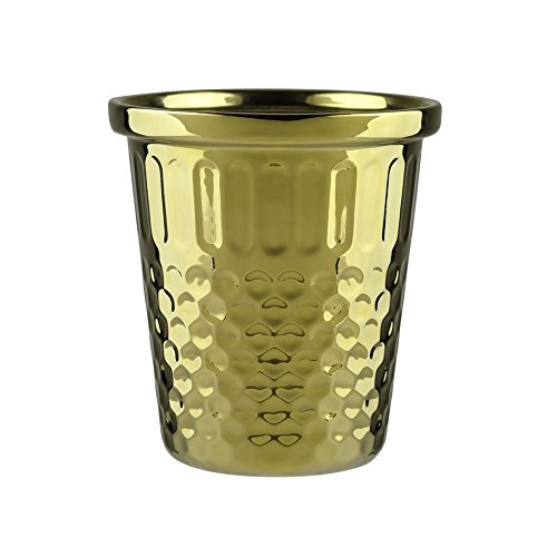 Misc. Giant Thimble Pen Pot - Gold