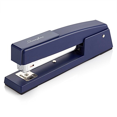 - Swingline Stapler, 747, Classic Desktop Stapler, 20 Sheet Capacity, Metal, Royal Blue (74724)