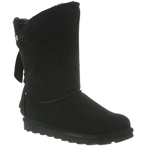 BEARPAW Womens Willow Boots, Suede, Rubber, Wool