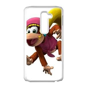 LG G2 Cell Phone Case White_Super Smash Bros Diddy Kong_002 Hwukm