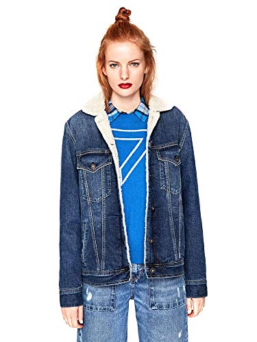 Azul Pepe Jeans Chaqueta Pl401559gc5 Mujeres w47rIgY7q