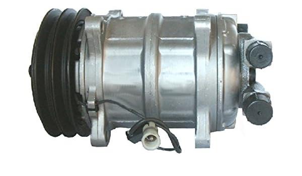 BEHR HELLA SERVICE 8FK 351 133-631 Compresor, aire acondicionado: Amazon.es: Coche y moto