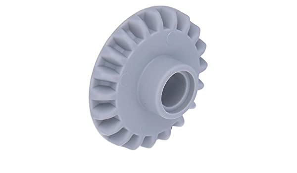 Gear 20 Tooth Bevel with Pin Hole LEGO 87407 Technic Light Bluish Grey