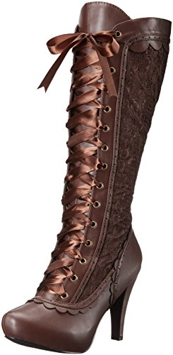 Ellie Shoes Women's 414-Mary Boot, Brown, 10 M US