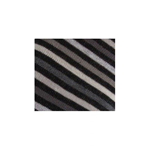 chaussettes Coton Noir Rayures Mi En Achile Swxq7UH