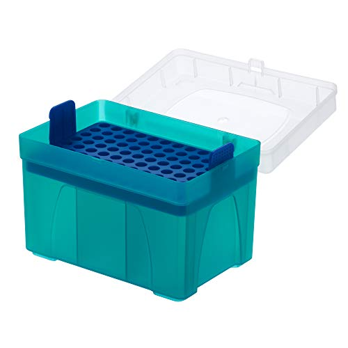 1000uL Pipette Tip Rack, Empty Rack for Bulk Tips, Wafer Included, Non-Sterile