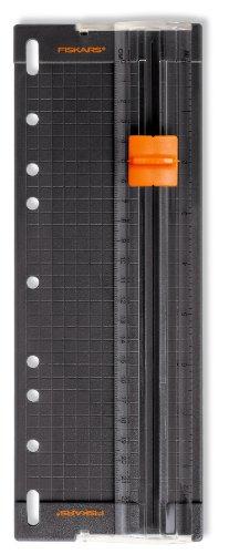 Fiskars Personal Paper 8-1/2 Inch Trimmer, Black