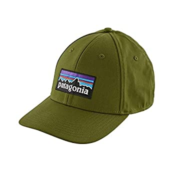 b6b82a82ae8 Cap Men Patagonia P-6 Logo Stretch Fit Cap  Amazon.co.uk  Clothing