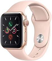 Apple Watch S5 40mm Series 5 Caixa Alum�nio e Correia Esportiva