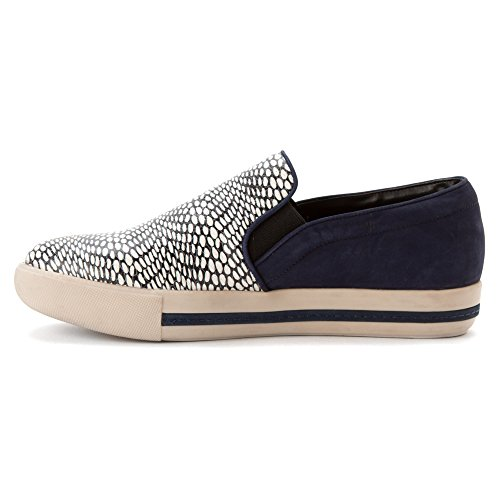Klub Nico Womens Sofie Slip-on Fashion Sneaker, Navy Combo