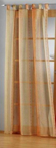 heimtexland Vorhang, Fertiggardine, 1 Schlaufenschal mit 7