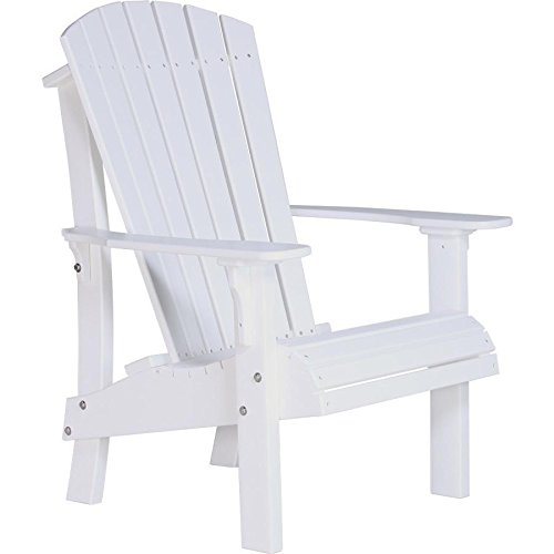 LuxCraft Recycled Plastic Royal Adirondack Chair For Sale