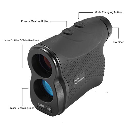 Nomtech 980yard Golf Laser Rangefinder with Fog, Scan, Speed Measurement for Hunting, Racing, Archery, Survey by Nomtech (Image #2)