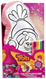 Kids Colour Your Own Cushion Pillow Trolls Princess My Little Pony Girls Gift