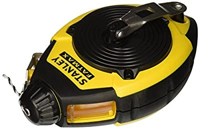 Stanley 47-140 100-Foot FatMax Chalk Line Reel by Stanley