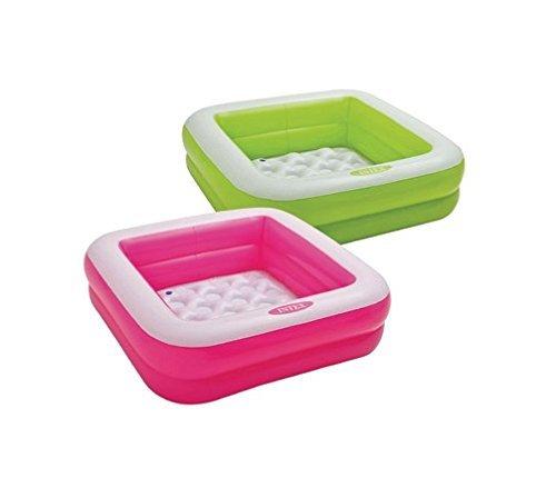 Intex Square Baby Pool - Pink -