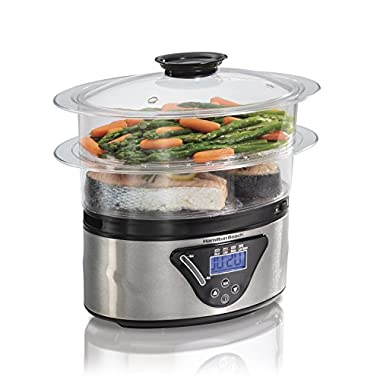 Hamilton Beach Digital Food Steamer - 5.5 Quart (37530A)