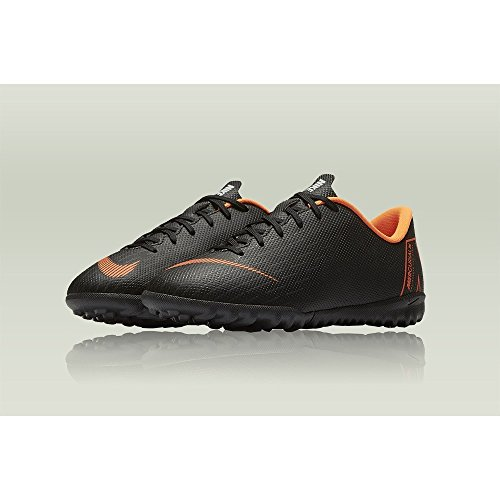 081 NIKE TF Black Jr Deporte 12 GS Adulto Zapatillas de Academy w Total Vaporx Multicolor Unisex Orange rqaw7WAX1r