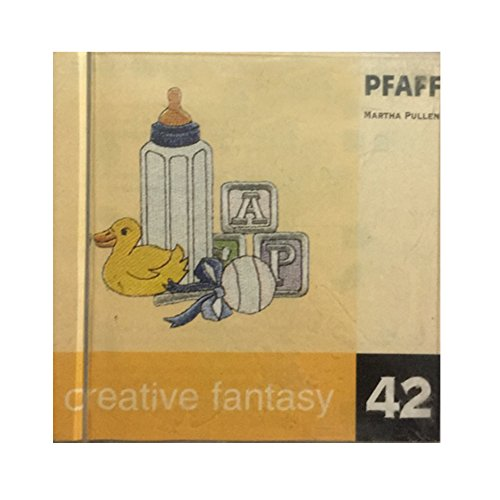 Pfaff Creative Fantasy Embroidery designs card Martha Pullen #42 for 7570 and others
