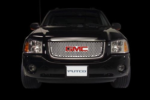 Putco 64310 Designer FX Deluxe Punch Pattern Stainless Steel Grille ()