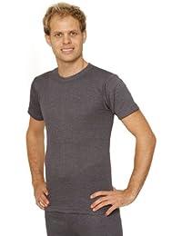 e652797fcf605 Mens Thermal Underwear Short Sleeve T-Shirt Vest Top