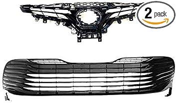 Black Steel Head Light Eyelid Trim Fits TOYOTA Camry 2018 2019 SE XSE Car Parts
