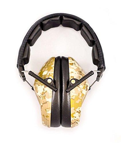 Champion Desert Camo Slim 21DB Earmuff (Champion Ear Protection)