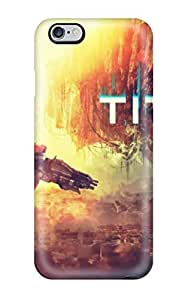 Tpu Case Cover Compatible For Iphone 6 Plus/ Hot Case/ Titanfall Hd by mcsharks