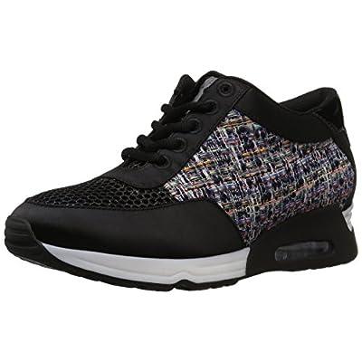 Amazon Brand - The Fix Women's Lexi Color/Material-Block Jogger Sneaker: Shoes