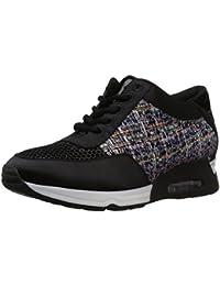 Amazon Brand - The Fix Women's Lexi Color/Material-Block Jogger Sneaker