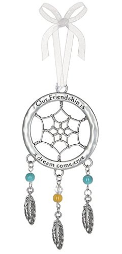 Dream Catcher Ornament - Our Friendship is a dream come true - Ornament Friendship Christmas