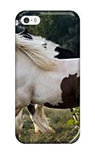 Premium Durable Running Horses Fashion Tpu Iphone 5/5s Protective Case Cover