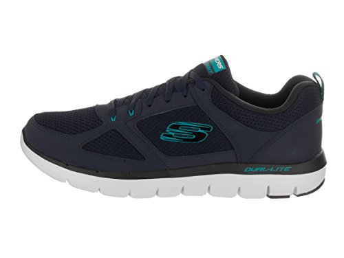 Dual Light Top Low Herren Blue Skechers Navy E4q5zf