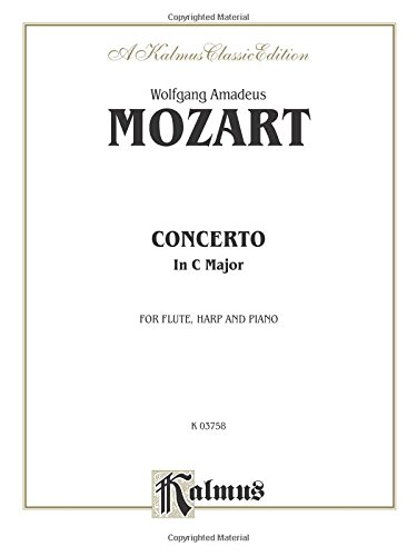 - Concerto for Flute and Harp, K. 299 (C Major) (Orch.): Part(s) (Kalmus Edition)
