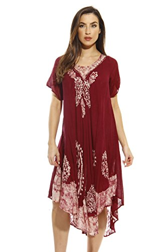 3533-3-2X Just Love Summer Dresses Plus Size / Swimsuit Cover Up / Resort Wear