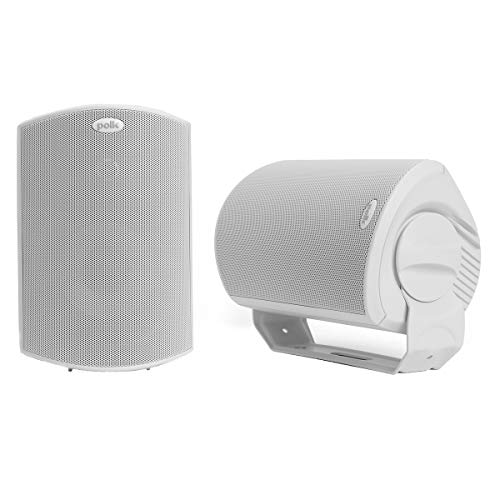 Polk Audio Atrium 6 Outdoor All-Weather Speakers with Bass Reflex Enclosure (Pair