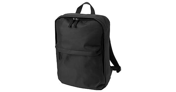 Amazon.com: Negro mochila con bolso interior extraíble ...