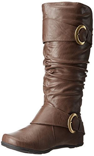 wc Slouch Brown Brinley Boot Hilton Wide Women's Calf Co rYxqxIt
