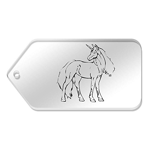 99 10 Claras 'unicornio Azeeda tg00067804 Etiquetas Mm Hermoso' Grande X 51 De OUyqwF7f4