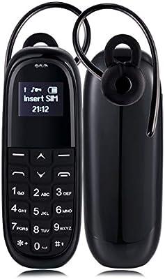 BAOBAO Mini teléfono móvil KK1, Teclado en inglés, Manos Libres y ...