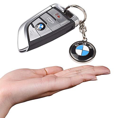 MASHA Car Logo Key Chains for BMW 3D Metal Mark Key Ring Accessories