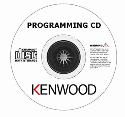 KENWOOD KPG-70D SOFTWARE CD OEM Windows® Programming Software TK-7102H, TK-8102
