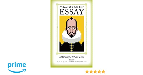 Essayists on the essay iowa