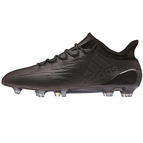 adidas Herren X 16.1 Fg Fußballschuhe, Schwarz (Core Black/Core Black/Dark Grey), 42 2/3 EU